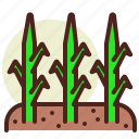 bio, ecology, grass, pollution, recycle icon