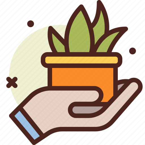 bio, ecology, green, hold, pollution, recycle icon