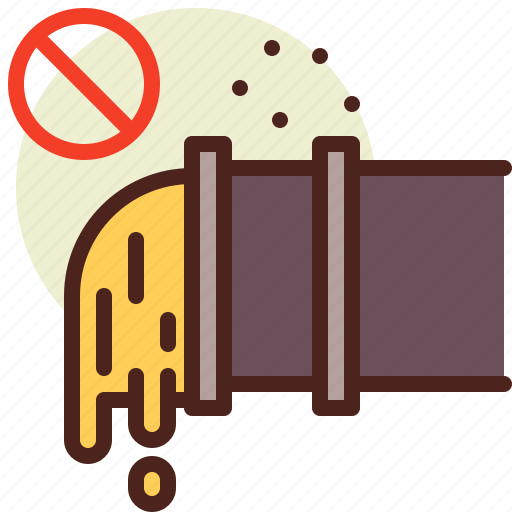 bio, ecology, no, oil, pollution, recycle icon
