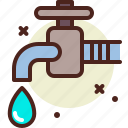 bio, ecology, pollution, recycle, tap icon