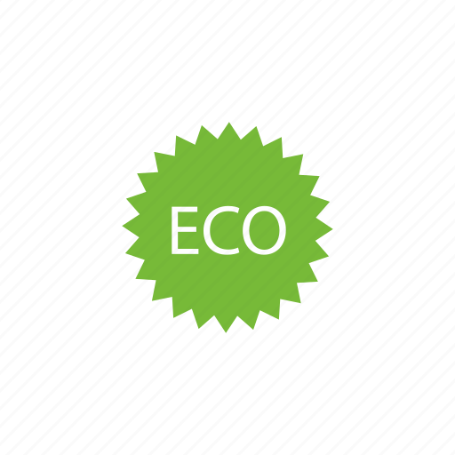 badge, building, eco, friendly, green, stamp icon