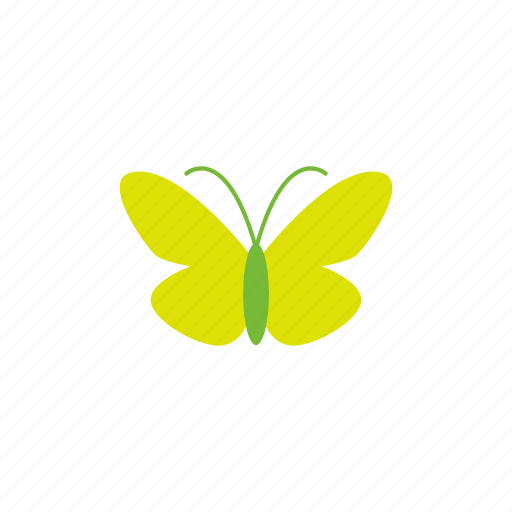 animal, beauty, building, butterfly, green icon