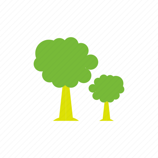 building, ecology, green, tree icon