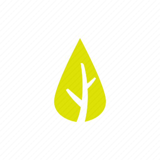 building, green, leaf icon