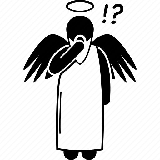 Angel, god, thinking icon - Download on Iconfinder