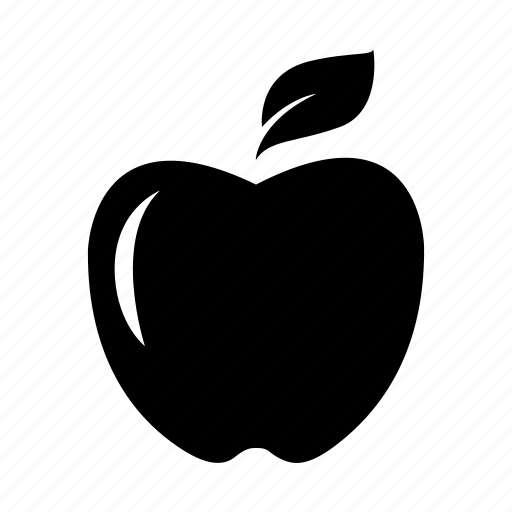apple, eat, fruit, learn, nature, satisfaction, smart icon