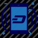 app, crypto, currency, dash, dashcoin, money, splash icon