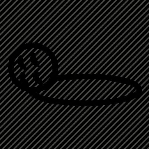 ball, golf, hole icon