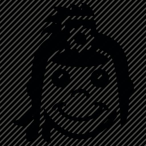 face, friday, girl, good icon