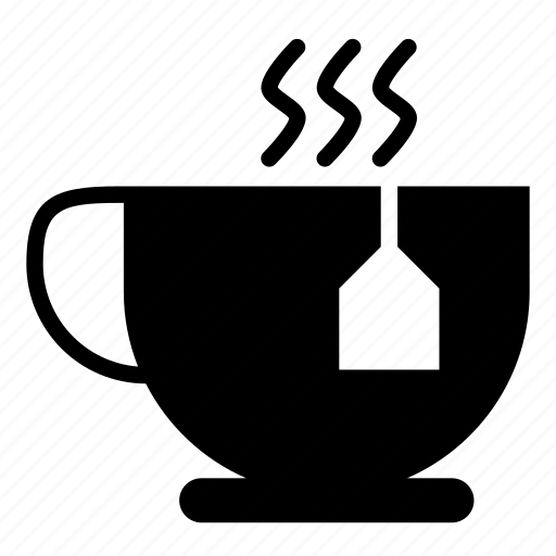 breakfast, cup, hot, tea, time icon