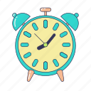 alarm, alarm clock, clock, morning, time, time management, wake up icon