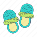bedtime, home shoes, home slippers, morning, shoes, sleep, slippers icon