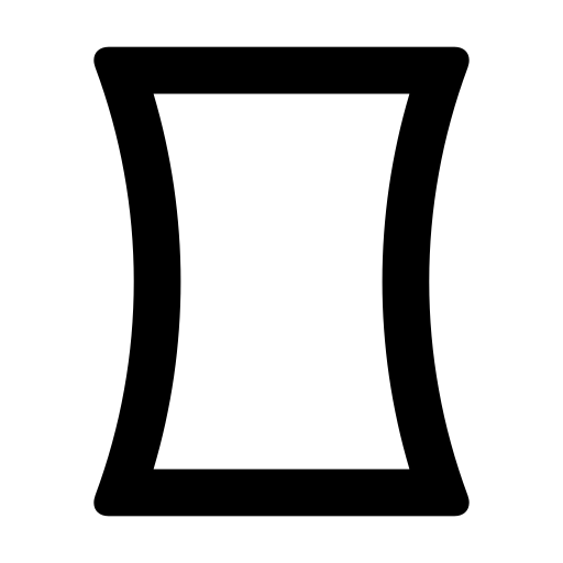 panorama, vertical icon