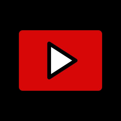 logo, media, play, player, video, youtube icon
