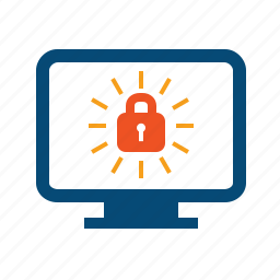 authorization, connection, encrypted, htpps, lock, monitor, protected, safe, secure, ssl, tls icon