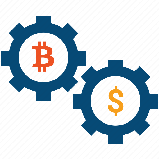 bitcoin, convert, crypto, currency, exchange, mining icon