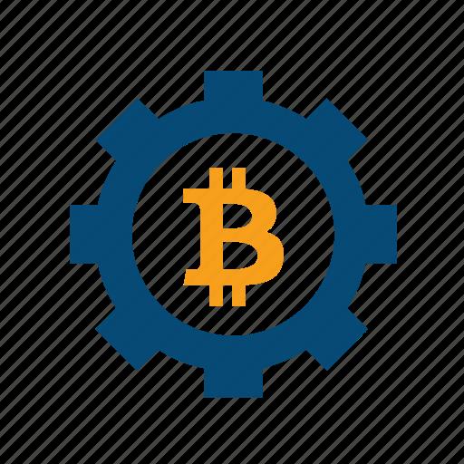 bitcoin, block chain, blockchain, minings icon