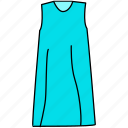 dress, female dress, gown icon, ladies dress, mature dress, maxi icon icon