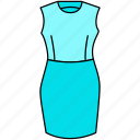 corporate lady dress icon, dress, outfit icon, sexy dress icon, trendy dress icon icon