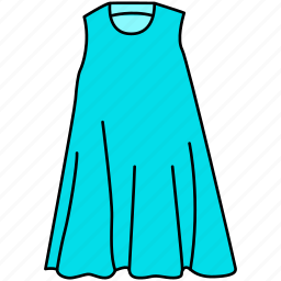 dress, female gown icon, gown icon, maxi icon icon