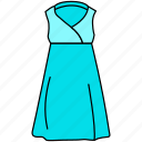 celebrity dress icon, dress, female gown icon, gown icon, maxi icon, trendy dress icon icon