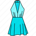 dress, gown icon, hollywood style icon, stylish dress icon, stylish female dress, stylish female dress icon icon