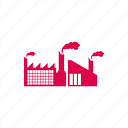 building, factory, ind, industrial, industry icon