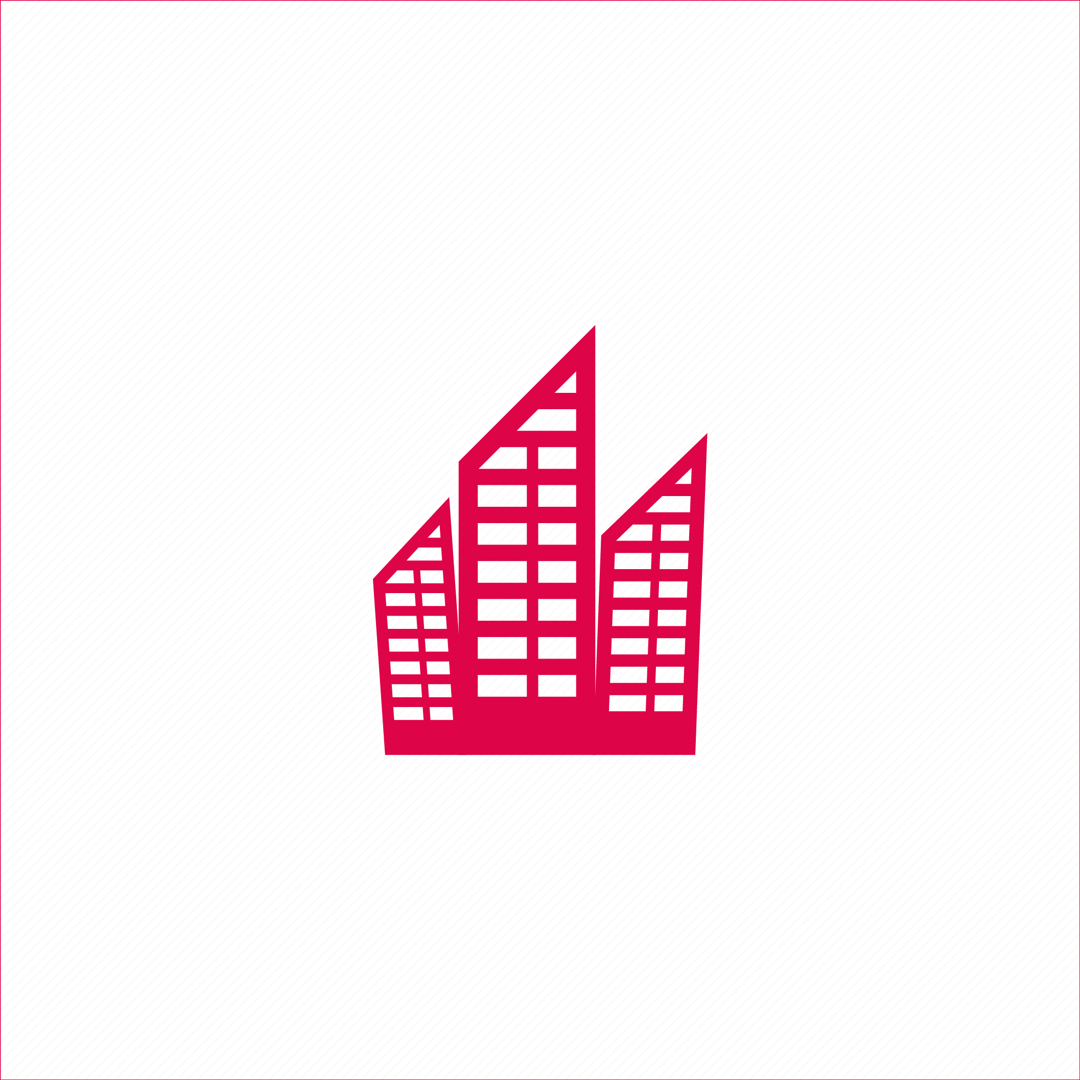 building, high rise, ind, office icon