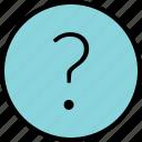 ask, menu, nav, navigation, question icon