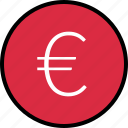 euro, menu, nav, navigation, pay, sign icon