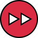 forward, menu, nav, navigation icon