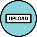 menu, nav, navigation, now, upload icon