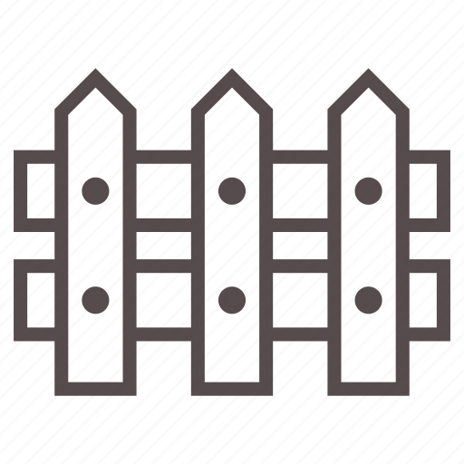 fence, garden, gardening, gate, house, spring, wood icon