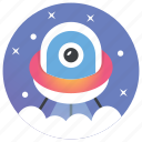 astronomy, rocket, satelight, space shuttle, spaceship, ufo icon