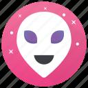 alien face, alinate, avatar, halloween mask, space avatar