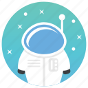 astronaut, astronomy, cosmonaut, moonwalker, scientist, spaceman icon