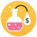 business analysis, business research, finance, financial research, scientific research icon