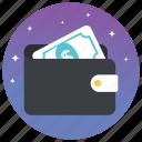 digital money, money bag, pocket book, pocket money, wallet