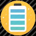 battery, battery indicator, battery status, charging, electronic equipment, energy storage icon