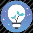 ecology, ecology light, green eco, green energy, save energy icon