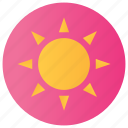 burn, lightening, summer weather, sun, sunny, sunny day icon