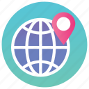 global access, gps, global location, network location, navigation, pin location