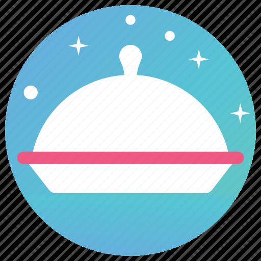 cloche, close lid, kitchen set, lid, lid cover icon