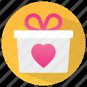 birthday box, gift, gift box, present, surprise box icon