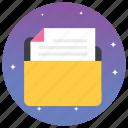 binder, document case, file, folder, network folder, pocket, shared folder icon