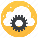 cloud computing, cloud maintenance, cloud setting, cloudset, configuration setting icon