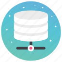big data, big storage, data server, database, digital storage icon