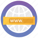 data monitoring, finding, search url, searching, web browser, web search icon