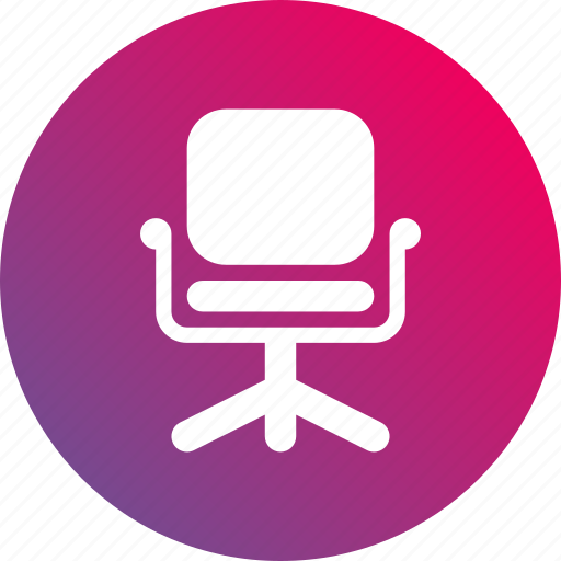 career, chair, gradient, job, opportunities, opportunity icon