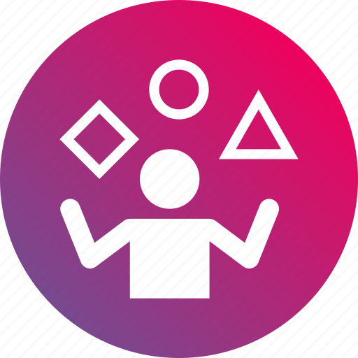 ability, dexterity, expertise, gradient, proficiency, skill, talent icon